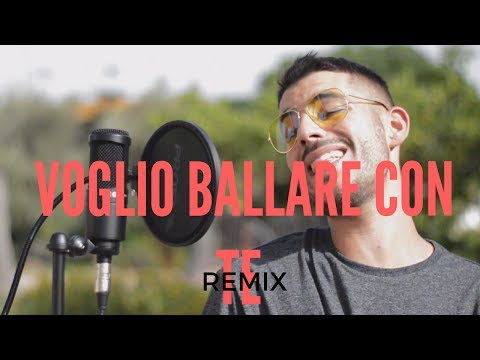 🤓BABY K feat Andres Dvicio- VOGLIO BALLARE CON TE (REMIX) COVER