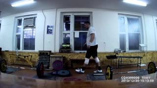 Тяжелая атлетика - функционалка (тяга стан + выбросы) 100кг+50кг