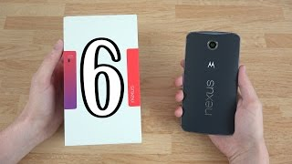 Motorola Google Nexus 6 (64GB Midnight Blue) Unboxing and Extended First Look!