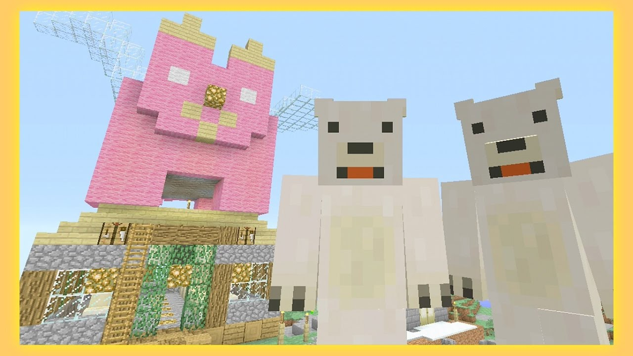 Stampy And Sqaishey Mario Maker : Twins ~ REAL ENORMAPIG ~ [41] - Sqaishey & Stampy - YouTube