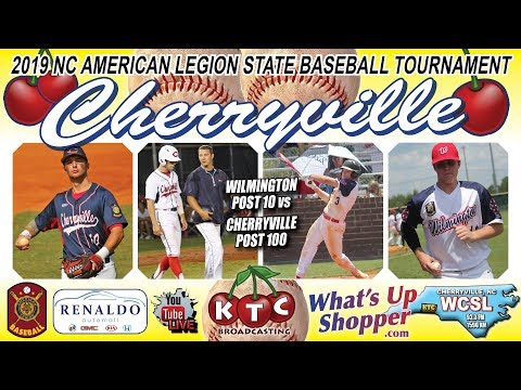 Cherryville Post 100 Vs Wilmington Post 10 - NC American Legion Baseball Tournament