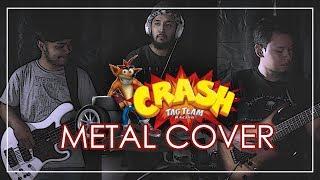 Soundtrack Crash Tag Team Racing Metal Cover by Sanca Records