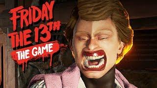 Friday The 13th The Game Gameplay German - Kevin allein zu Haus