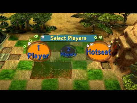 Madagascar Escape 2 Africa Walkthrough Part 4 (X360, PS3, PS2, Wii) 100% Level 4 - The Watering Hole