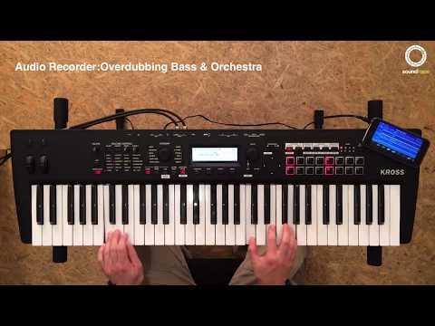 KORG KROSS #3   Audio Recorder