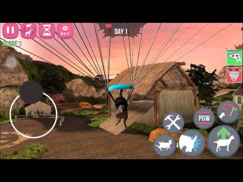 goat simulator: goatZ -how to get sky goat ios android