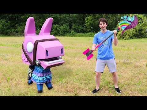 Fortnite Funko Pop Hunting | Lifesize Loot Llama!