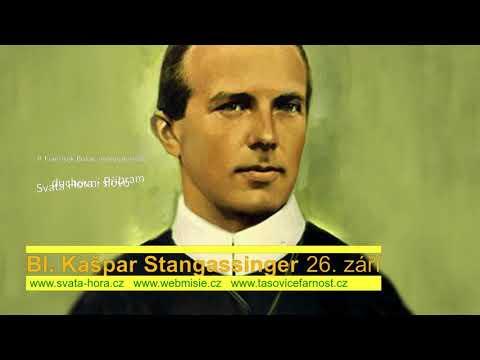 Bl. Kašpar Stangassinger upoutávka