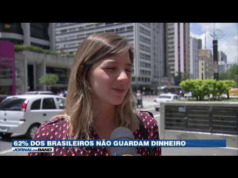 Pesquisa revela que brasileiros não conseguem poupar