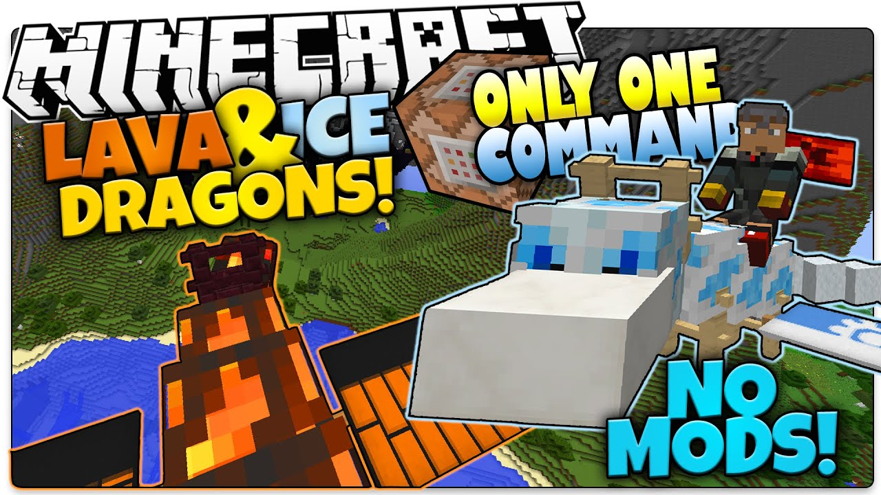 minecraft dragons in one command