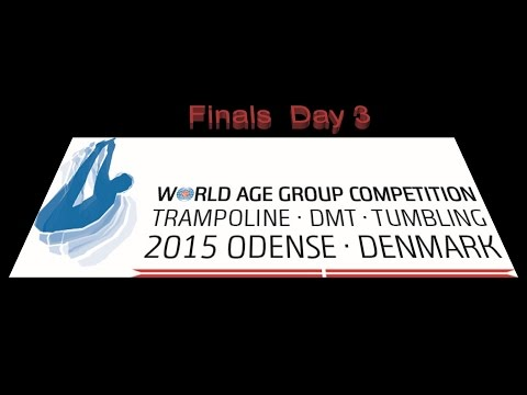T&T World Age Group Competition 2015 Finals Day 3