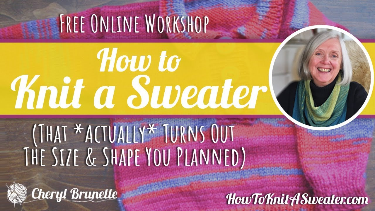 Sweater Finishing: Perfect Sweater Seams YouTube