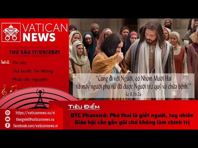 Radio thứ Sáu 17/09/2021 - Vatican News Tiếng Việt