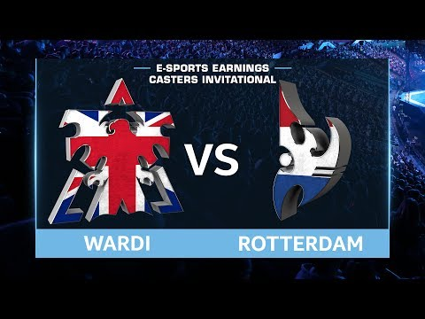 StarCraft 2 - Wardi vs. RotterdaM (TvP) - EsportsEarnings Casters Invitational - Group B QM LB