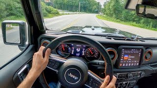 2020 Jeep Gladiator Mojave Street Drive - POV Test Drive by Tedward (Binaural Audio)