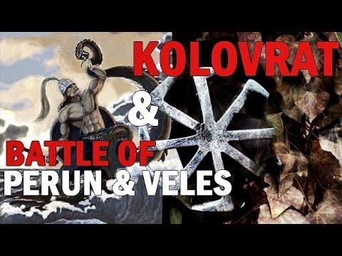 Kolovrat & Battle of Perun and Veles [Slavic rituals and tales]