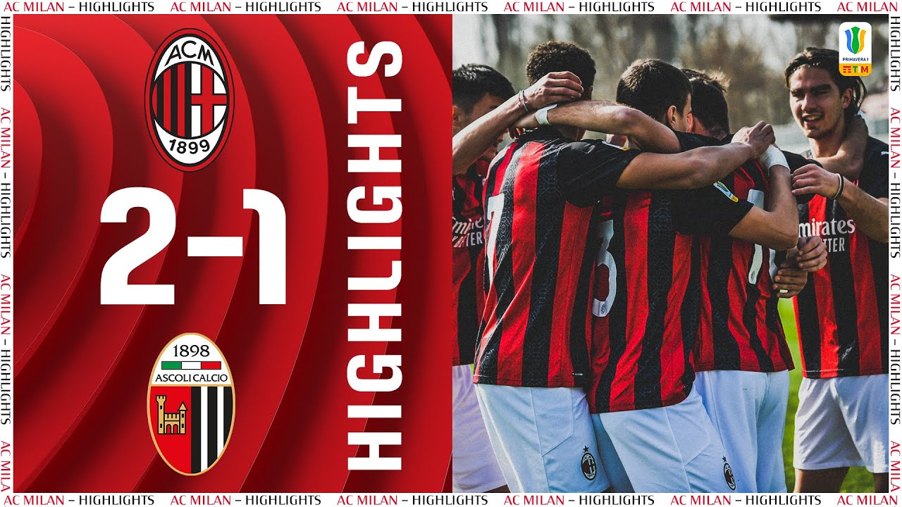 Highlights   Milan Primavera 2-1 Ascoli   Matchday 8 Primavera 1 2020/21