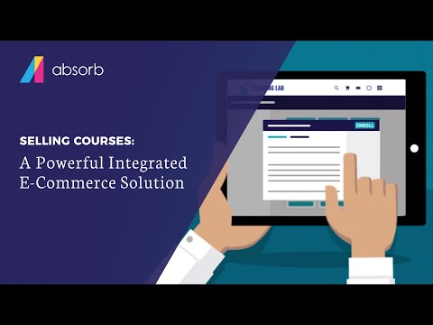 Sell Your Courses with Absorb LMS