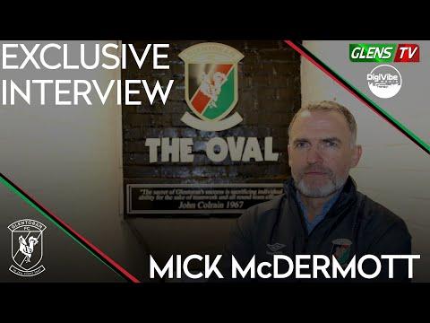 Exclusive Interview | New Glentoran Head Coach - Mick McDermott