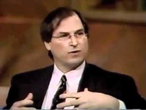 Genius Entrepreneur Steve Jobs WSJ Interview