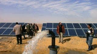 المصرية لاستصلاح الاراضي - المغرة العلمين - قدرة الخلايا 30 ك و