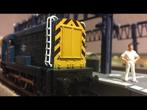 Model Railway – Running in a Hornby 08 from the 80's OO Guage
