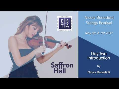 Nicola Benedetti Strings Festival 2017: Opening Talk