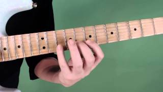 The Sweep Picking String Shift Part 1 - With Neo Classical Run