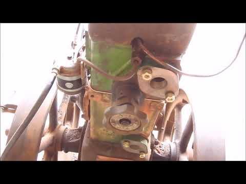 Lister CS Diesel Engine Running