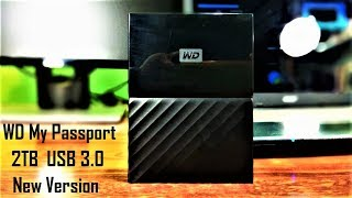 Unboxing and Review of WD My Passport 2TB USB 3.0 New Version External Hard Disk