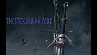 The Witcher 3 BATTLE SWORD (Мастер изготавливает меч Геральта из Ведьмака)