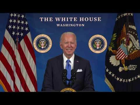 拜登录影片欢迎新公民:谢谢选择美国(图/视频)