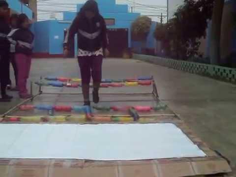 Juego Didactico Para Motricidad A Base De Material Reciclable Youtube