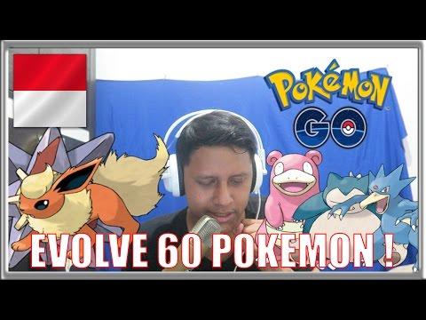 EVOLVE 60 POKEMON ! - Pokemon GO Indonesia #6