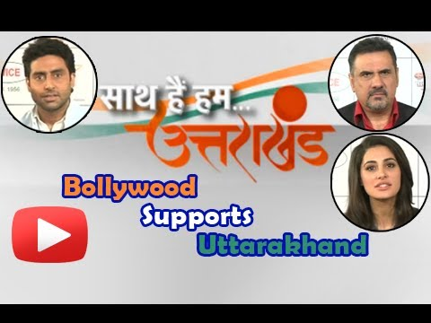 Nargis Fakhri, Abhishek Bachchan Support Uttarakhand - Saath Hai Hum Uttarakhand Show