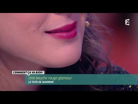 [BEAUTÉ] Une bouche rouge glamour #CCVB