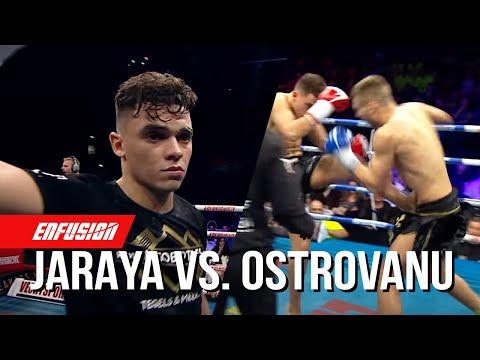 Mohammed Jaraya(Morocco) VS Andrei Ostrovanu(Romania) Enfusion Live Groningen November 21st 2015