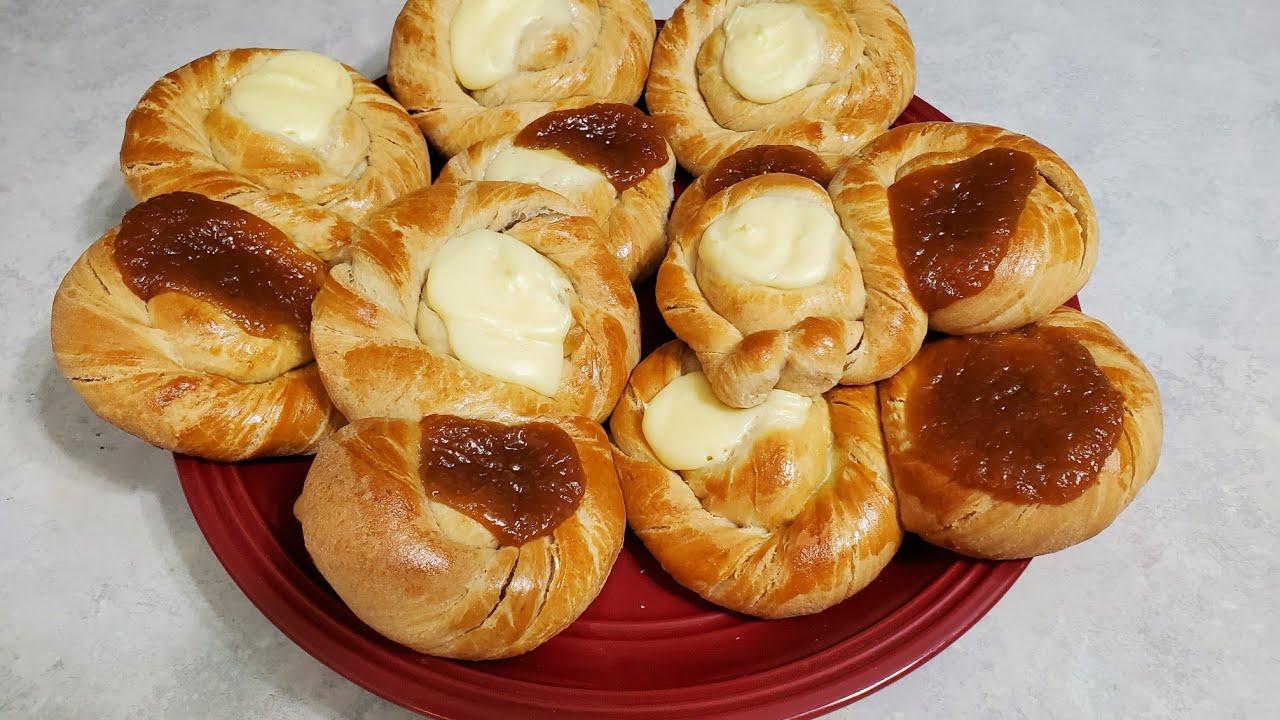 Como hacer estos deliciosos 8 de pan danes