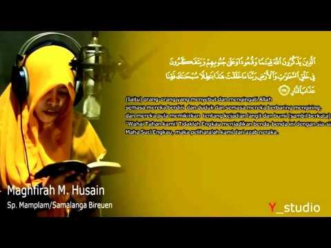 Maghfirah M. Husain, Gadis Cantik Ngaji Surat Al-Anfal Suara Merdu Bikin Merinding Seluruh Tubuh