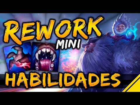 REWORK HABILIDADES NUNU - Mejor Q y W | Noticias League Of Legends LoL
