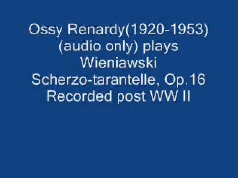 Ossy Renardy plays Henry Wieniawski Schero-tarantelle Op.16