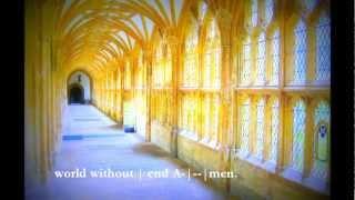 Psalm 37: 1-20. Anglican psalm-chanting