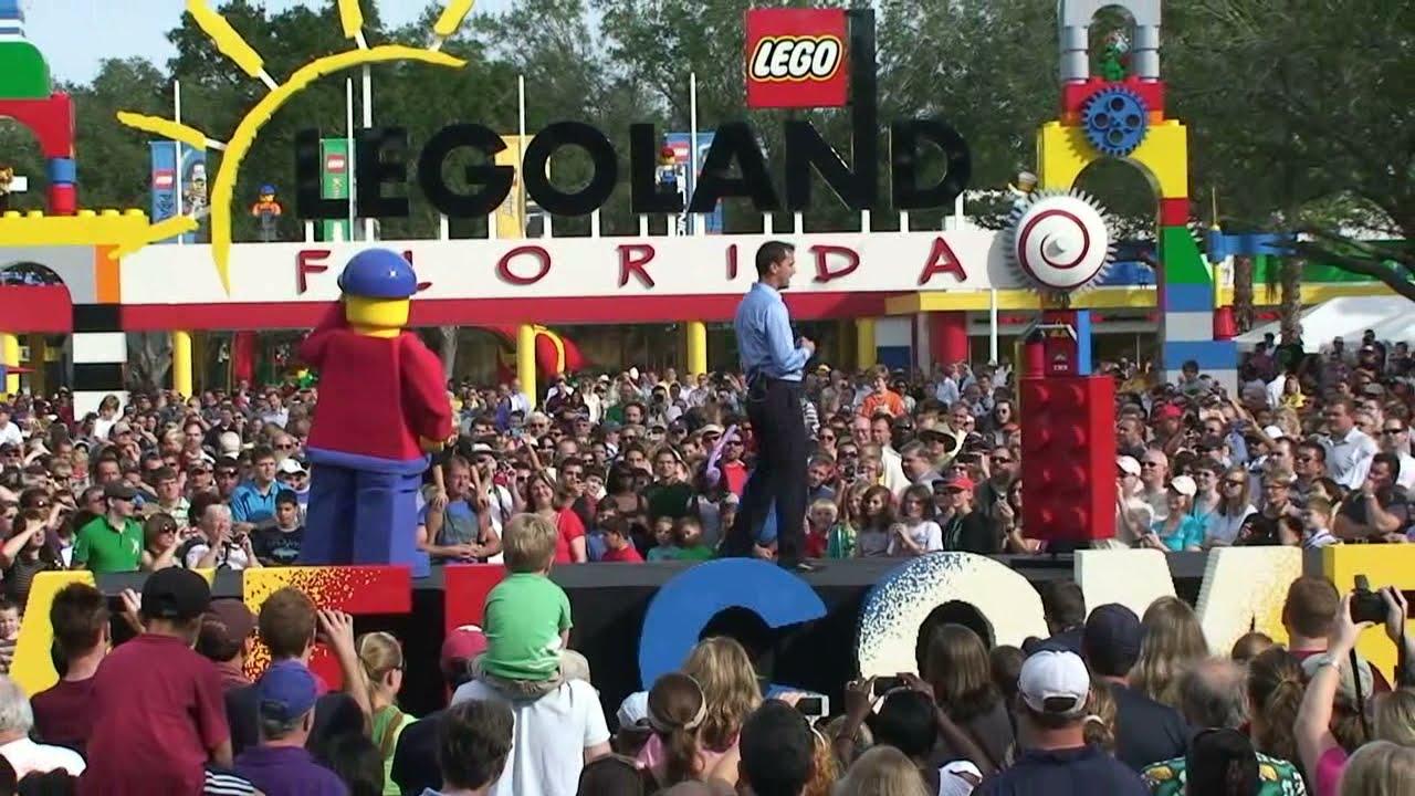 LEGOLAND Florida, Grand Opening Day Celebration 10/15/11 ...