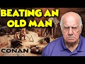 BEATING A DEFENCELESS OLD MAN - Conan Exiles - ft. maxmoefoegames