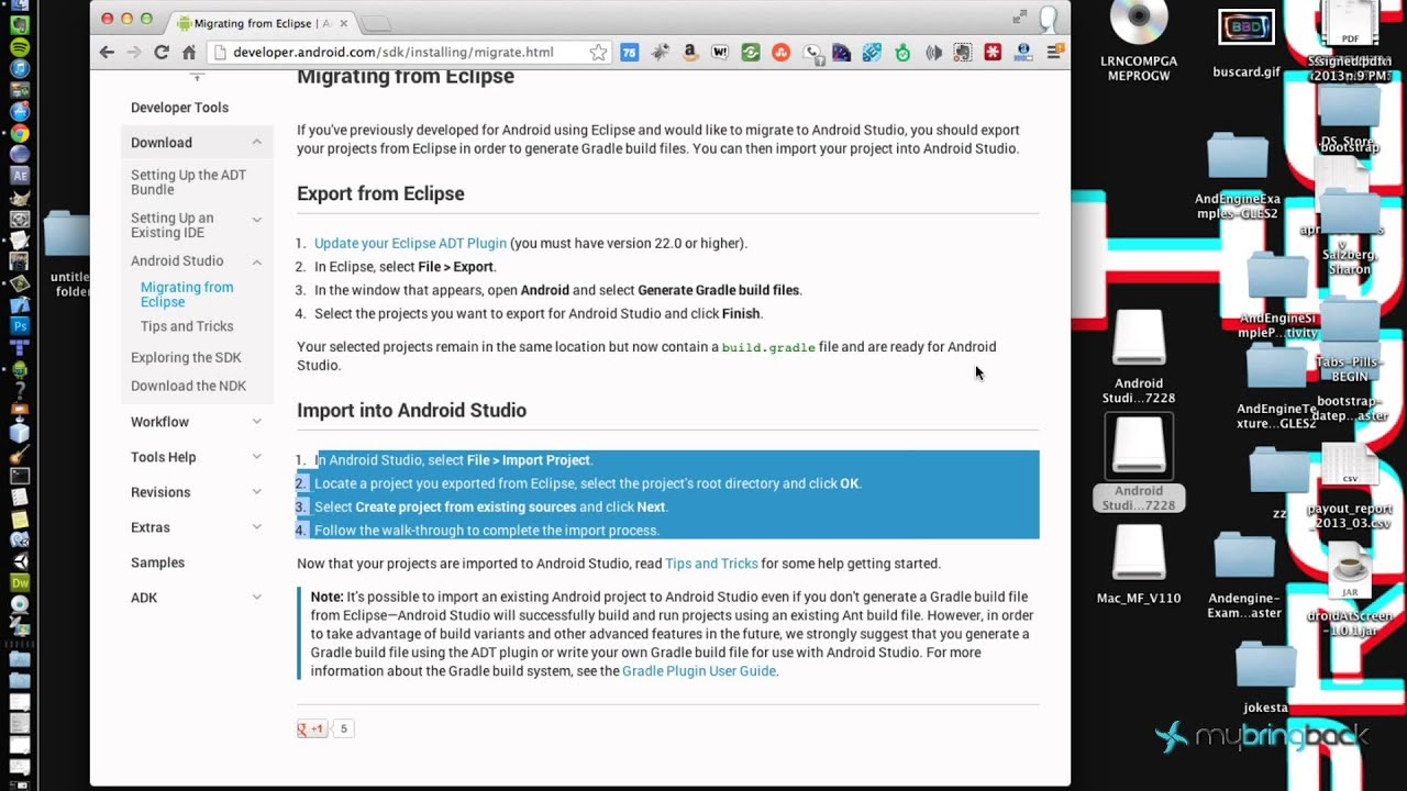 Download Android Studio, A New IDE by IntelliJ