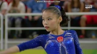 Chunsong Shang CHN Fx AA Olympics Rio 2016