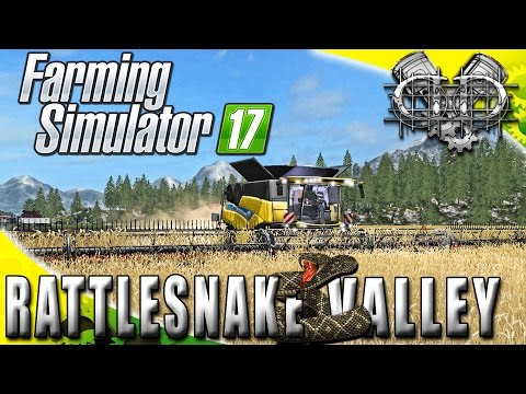 Farming Simulator 2017 Gameplay :EP2: Getting Started on Field 15!! (PC RattleSnake Valley)