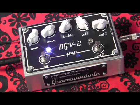 Improvizorca DGV 2 Overdrive & Boost guitar pedal demo with Kingbee Strat