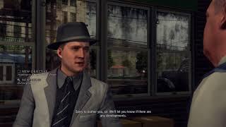 LA Noire PS4 Gameplay
