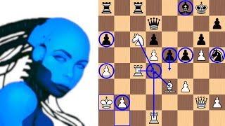 Leela Chess Zero's Queenside Kingwalk in the Najdorf | TCEC Season 15